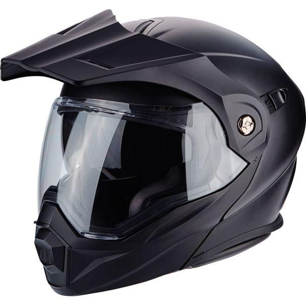 Casti Moto Adventure-Touring Scorpion Exo Casca Moto Touring/Adventure ADX-1 Solid Matt Black