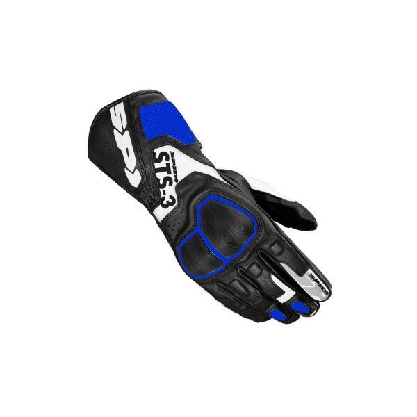 Manusi Moto Sport si Piele Spidi Manusi Moto Piele Sport STS-R3 Black/Blue 2021
