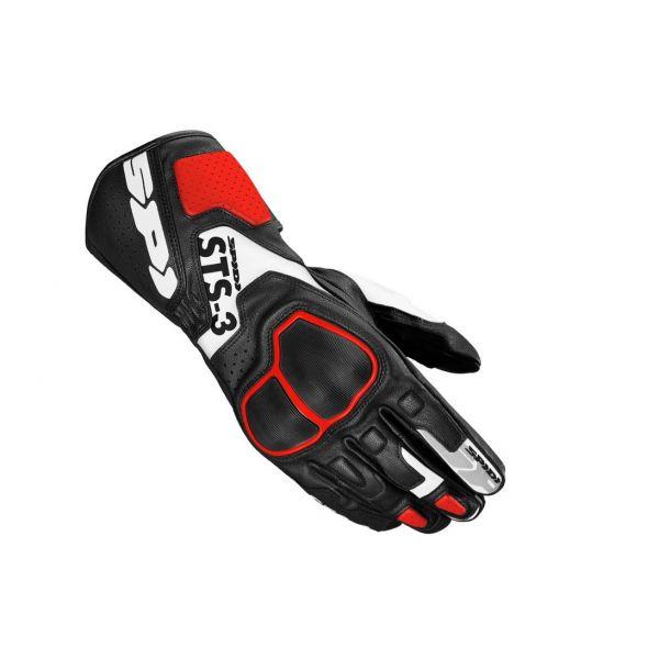 Manusi Moto Sport si Piele Spidi Manusi Moto Piele Sport STS-R3 Red 2021