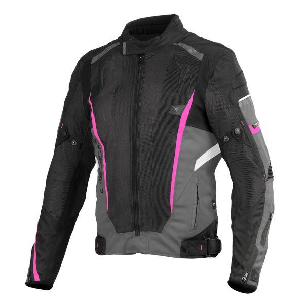 Geci Moto Textil - Dama Seca Geaca Strada Moto Dama Textil Airflow II Fuchsia 2021