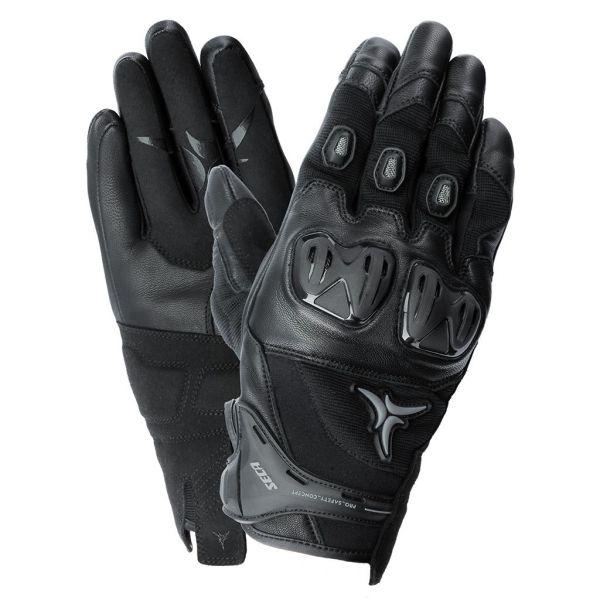 Manusi Moto Sport si Piele Seca Manusi Moto Strada Textile/Piele Control II Black 2021
