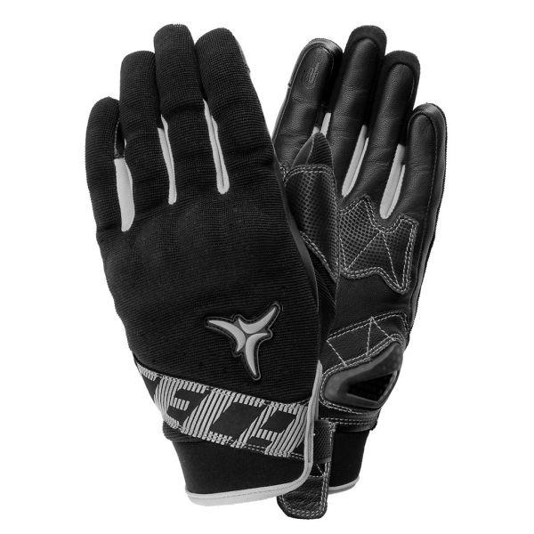 Manusi Moto Sport si Piele Seca Manusi Moto Strada Textile/Piele X-Stretch Black/Titanium 2021