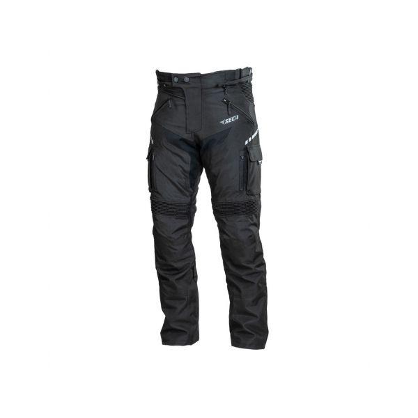 Pantaloni Moto Textil Seca Pantaloni Hakama III Negru 2020