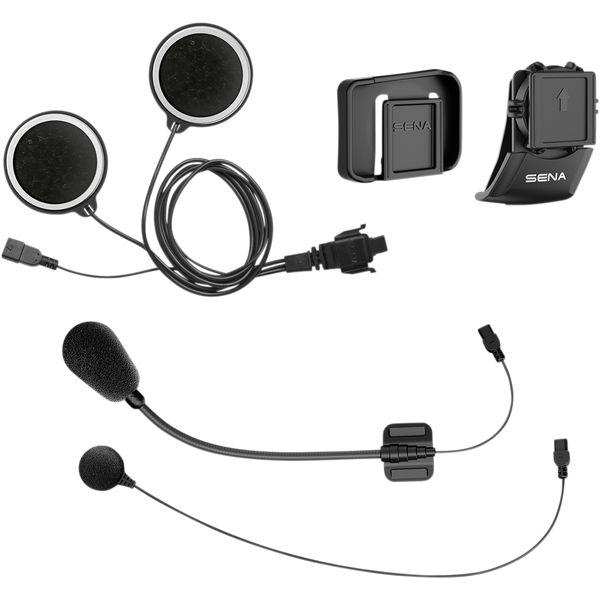 Sisteme Comunicatie Sena Kit Casca Cleme Difuzoare si Microfon 10C