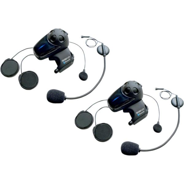 Sisteme Comunicatie Sena Sistem Comunicatie SMH10-11D Dual Bluetooth Negru Cu Microfoane Universale