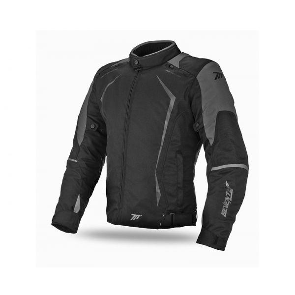 Geci Textil Seventy Geaca Textila Impermeabila SD-JR47 Black/Gray