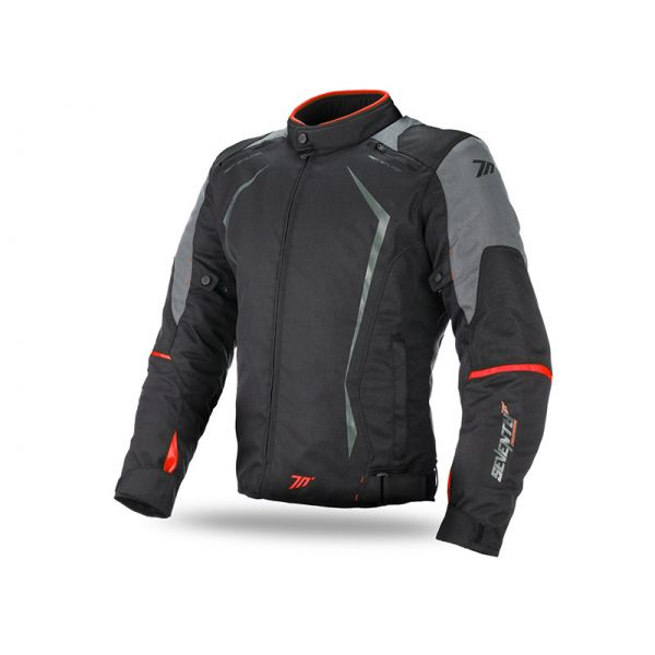 Geci Textil Seventy Geaca Textila Impermeabila SD-JR47 Black/Red