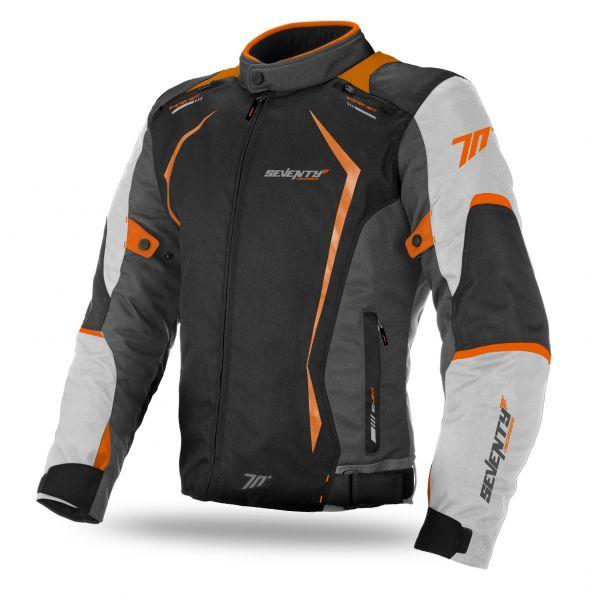Geci Textil Seventy Geaca Textila Impermeabila SD-JR47 Gray/Orange