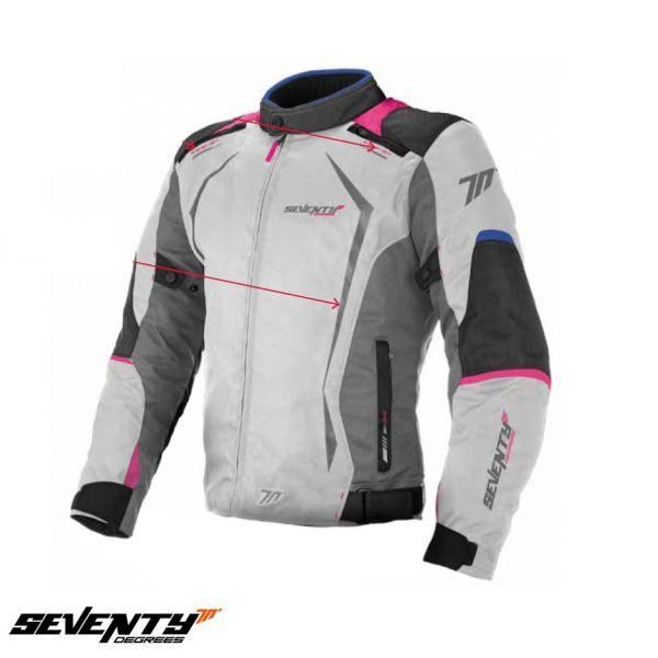 Geci Textil - Dama Seventy Geaca Textila Impermeabila SD-JR49 Gray/Pink Dama