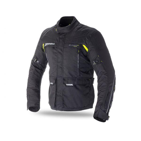 Geci Textil Seventy Geaca Textila Impermeabila SD-JT41 Black/Yellow