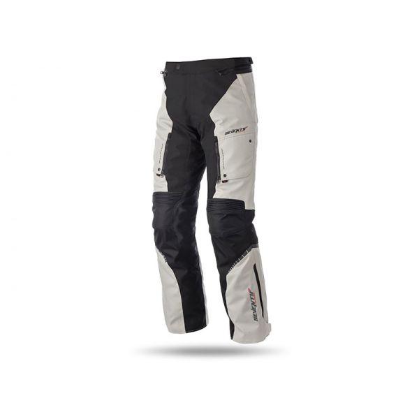 Pantaloni Moto Textil Seventy Pantaloni Textili Impermeabili SD-PT1 Black/Gray