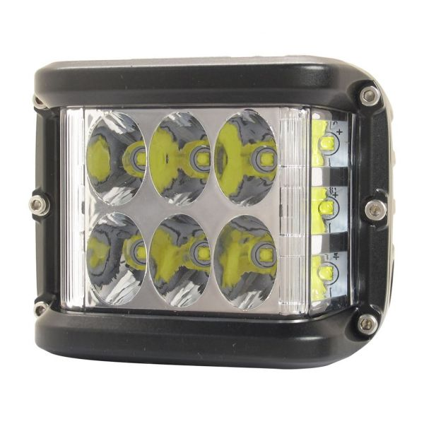 Bare Led ATV/UTV Shark BARA LED SHARK LED DUAL SIDE SHOOTER, CREE LED, HOMOLOGATION E9, 36W