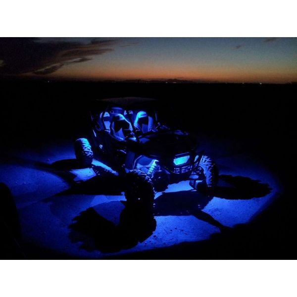 Bare Led ATV/UTV Shark BARA LED SHARK LED LIGHT 3 inchX2 inch, 3W, MULTI-COLOR, BLUETOOTH CONTROL, 4 PCS SET