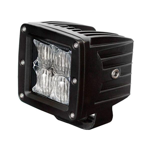 Bare Led ATV/UTV Shark BARA LED SHARK LED WORK LIGHT, CREE LED, 16W 5D REFLECTOR