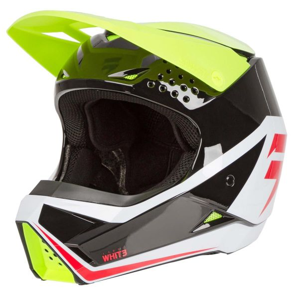 Casti MX-Enduro Copii Shift Casca MX Copii WHIT3 Galben 2020