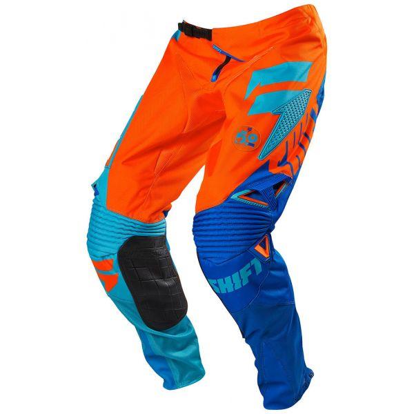 Pantaloni MX-Enduro Shift LICHIDARE STOC Pantaloni Shift Faction Orange/Blue