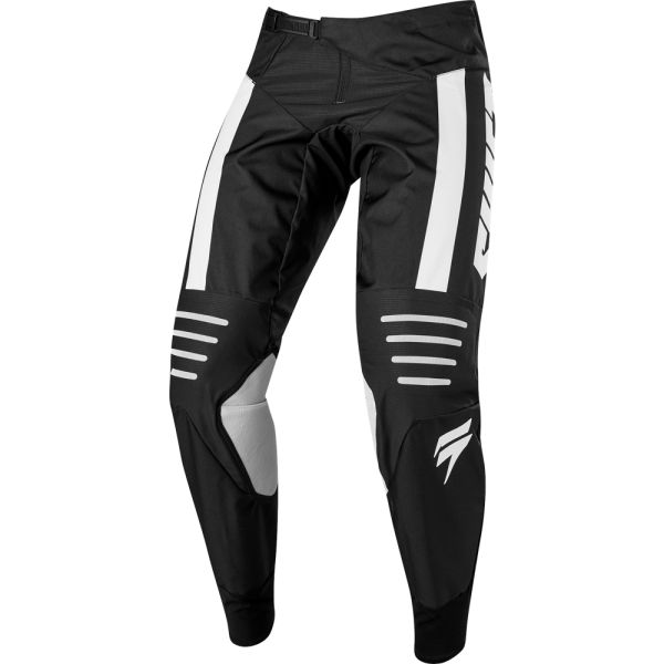 Pantaloni MX-Enduro Shift Pantaloni 3Lack Strike Black/White 2019