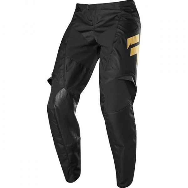 Pantaloni MX-Enduro Copii Shift Pantaloni MX Copii Whit3 Muerte LE galben 2020