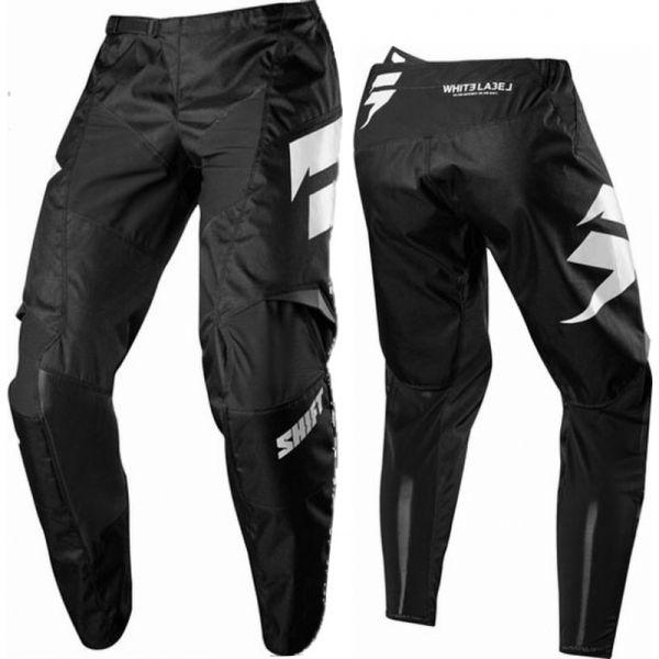 Pantaloni MX-Enduro Shift LICHIDARE STOC Pantaloni Whit3 Ninety Seven Black 2018