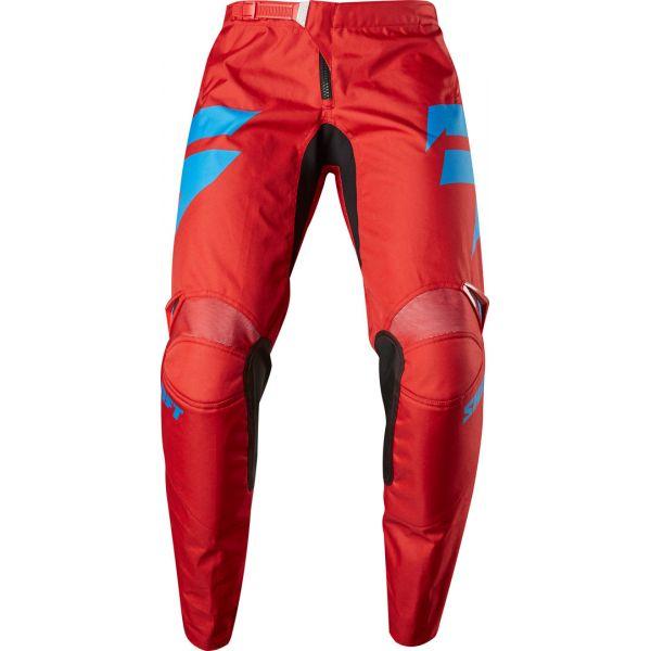 Pantaloni MX-Enduro Shift Pantaloni Whit3 Ninety Seven Red
