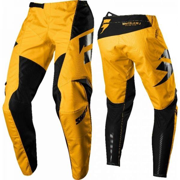 Pantaloni MX-Enduro Shift LICHIDARE STOC Pantaloni Whit3 Ninety Seven Yellow 2018