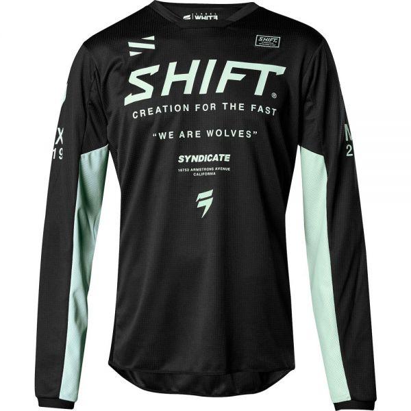Shift Tricou Whit3 Label Basalt LE Black