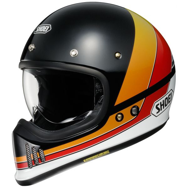 Casti Retro Shoei Casca EX-Zero Equation TC-10 multicolor/negru