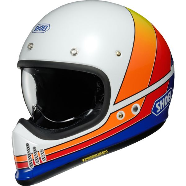 Casti Retro Shoei Casca EX-Zero Equation TC-2 multicolor/alb
