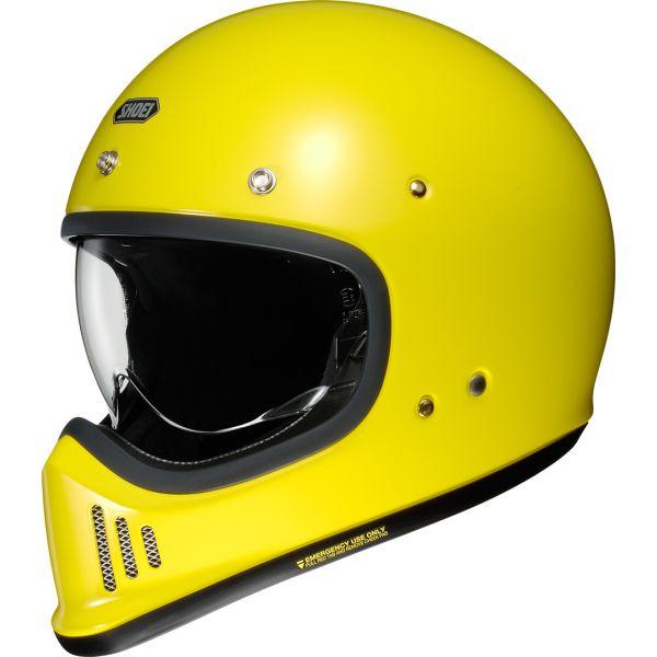 Casti Retro Shoei Casca EX-Zero galben stralucitor
