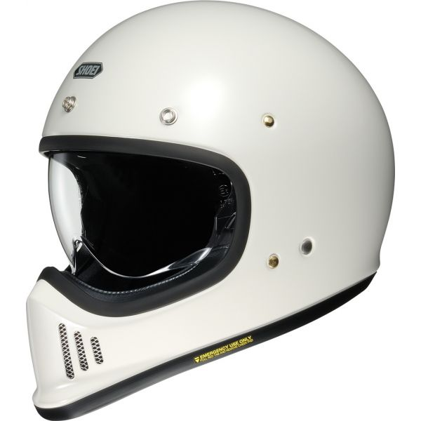 Casti Retro Shoei Casca EX-Zero off Alb