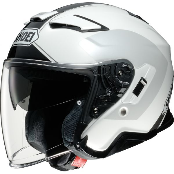 Casti Moto Jet (Open Face) Shoei Casca J-CRUISE 2 Adagio TC-6 - Alb/Gri