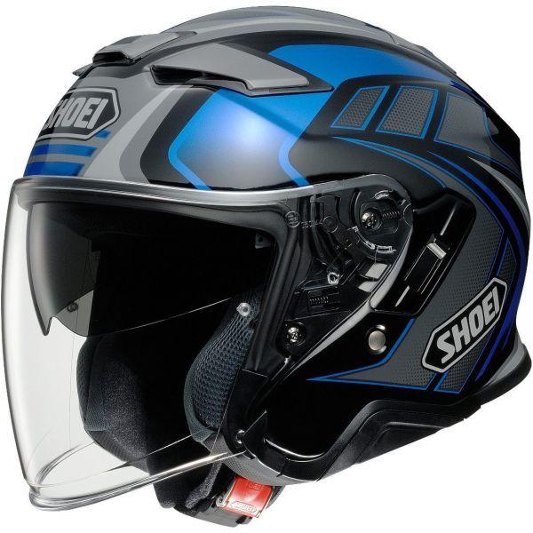 Casti Moto Jet (Open Face) Shoei Casca J-CRUISE 2 Aglero TC-2 - Multicolor Albastru