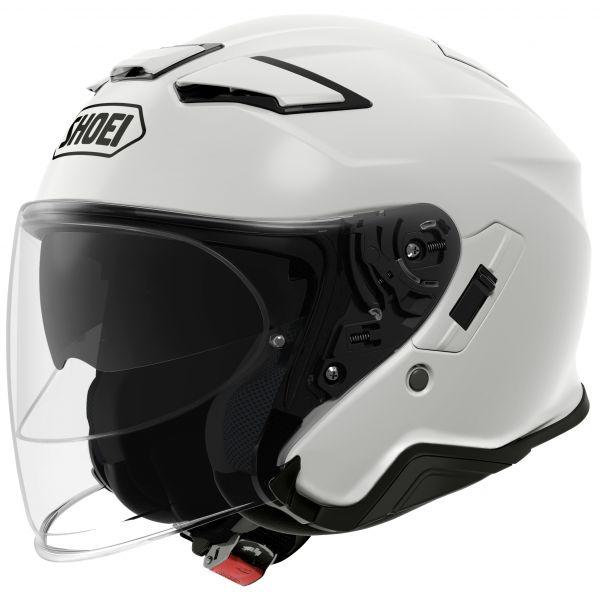 Casti Moto Jet (Open Face) Shoei Casca J-CRUISE 2 SOLID - Alb
