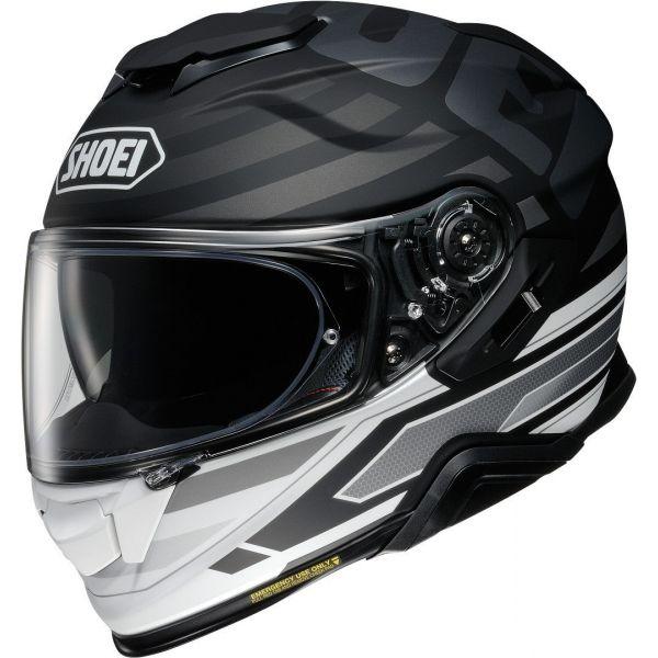 Casti Moto Integrale Shoei Casca Moto Full-Face GT-Air 2 Insignia TC-5 Black/White/Silver