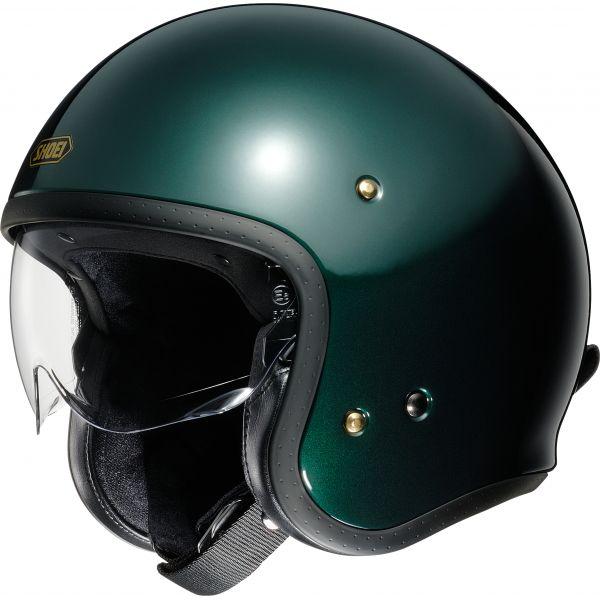 Casti Moto Jet (Open Face) Shoei Casca Moto Open Face/Jet J.O British Green