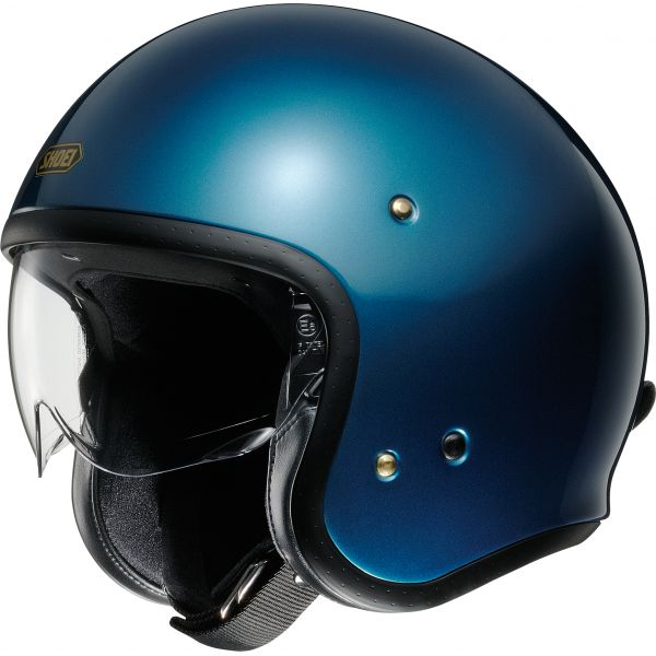 Casti Moto Jet (Open Face) Shoei Casca Moto Open Face/Jet J.O Light Blue