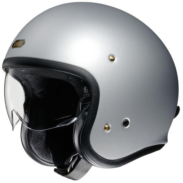 Casti Moto Jet (Open Face) Shoei Casca Moto Open Face/Jet J.O Matt Silver