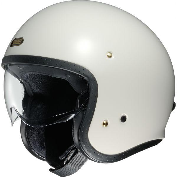 Casti Moto Jet (Open Face) Shoei Casca Moto Open Face/Jet J.O Off White