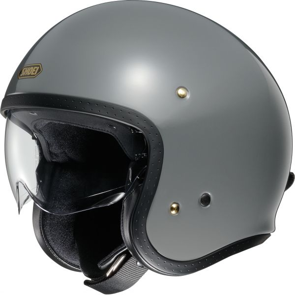 Casti Moto Jet (Open Face) Shoei Casca Moto Open Face/Jet J.O Rat Grey