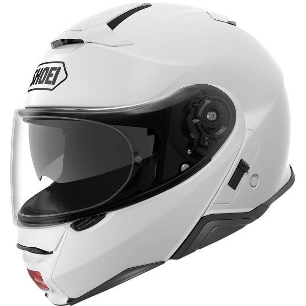 Casti Moto Flip-up (Modulabile) Shoei Casca NEOTEC 2 SOLID - Alb Lucios