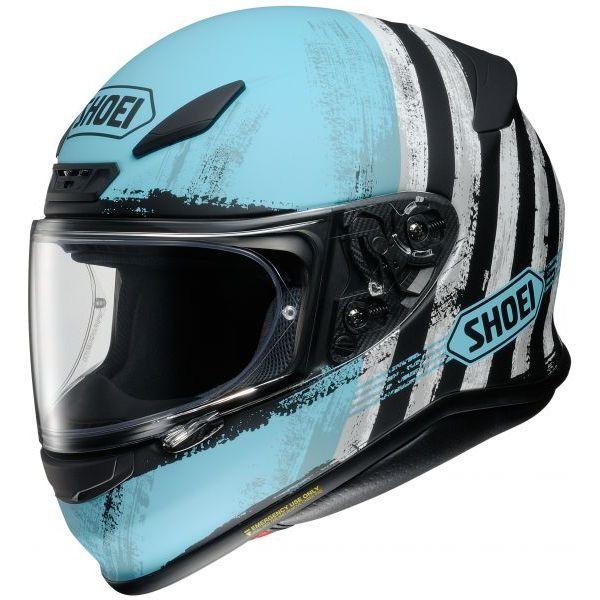 Casti Moto Integrale Shoei Casca Moto Full-Face NXR Shorebreak TC-2 Multicolor/Albastru