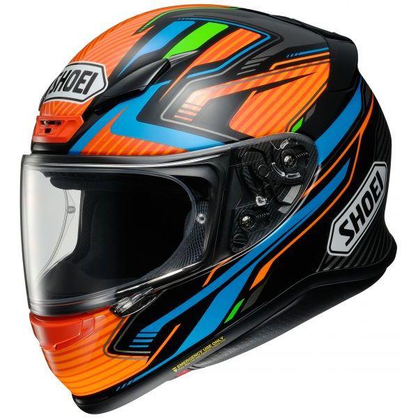 Casti Moto Integrale Shoei Casca NXR Stab TC-8- Multicolor/Portocaliu