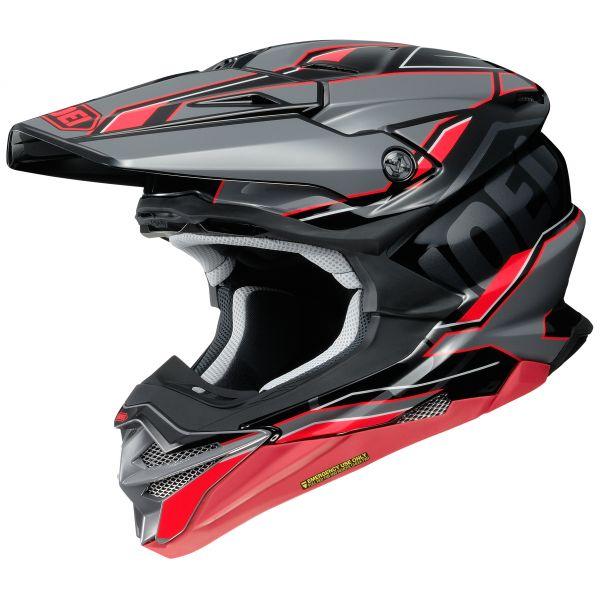 Casti MX-Enduro Shoei Casca Moto MX VFX-WR Allegiant TC-1 Negru/Rosu