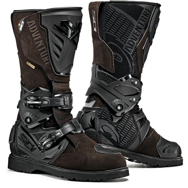 Cizme Moto Touring Sidi Cizme Moto Adventure 2 Gore-Tex Brown 2021