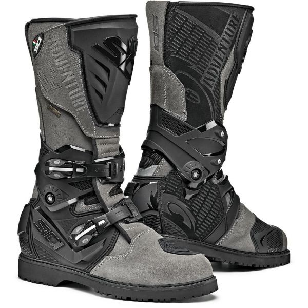 Cizme Moto Touring Sidi Cizme Moto Adventure 2 Gore-Tex Grey-Black 2021