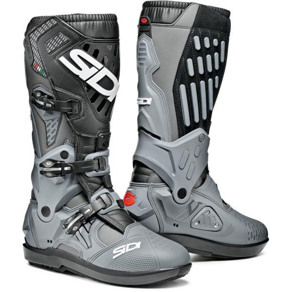 Cizme MX-Enduro Sidi Cizme Moto Atojo SRS Grey-Black 2021