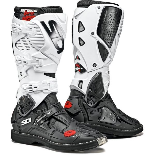 Cizme MX-Enduro Sidi Cizme Moto Crossfire 3 Black-White 2021