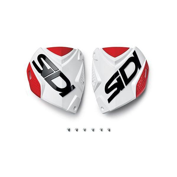 Accesorii Cizme Sidi  Crossfire2 shin plate alb-Red (132)