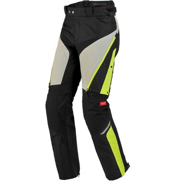 Pantaloni Moto Textil Spidi Pantaloni Textili H2Out 4Season Yellow Fluo 2020