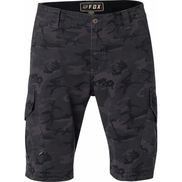 Pantaloni Casual Fox Short Slambozo Camo Cargo Black